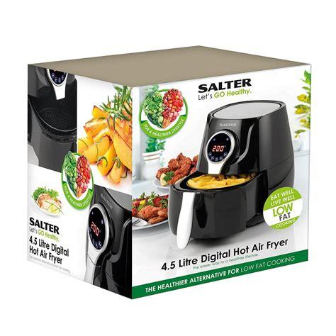 salter fryer air digital healthy fat litres energy low efficient 1400w onbuy fryers