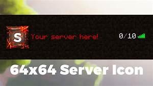 Minecraft Server Icon Template - Earth Cracks - YouTube