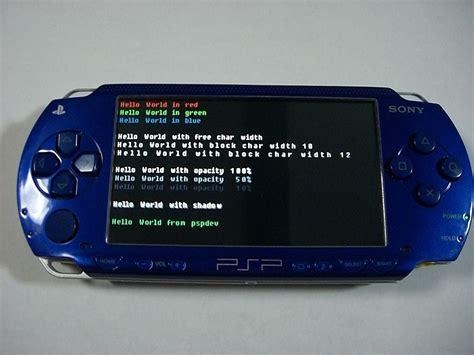 Playstation Portable Homebrew