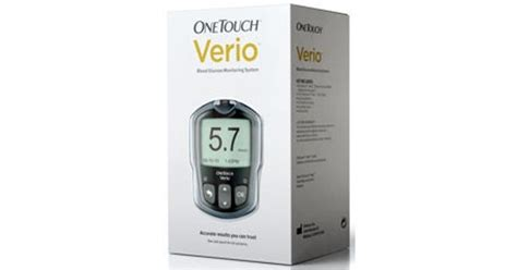 OneTouch Verio Blood Glucose Monitoring System ...