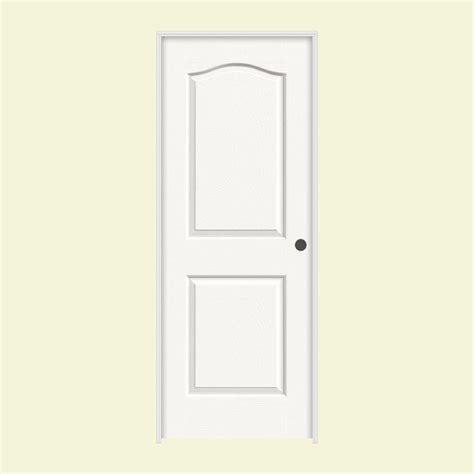 3 panel interior doors home depot jeld wen 24 in x 80 in molded smooth 3 panel craftsman