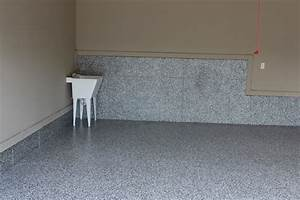 Custom garage floors industrial garage and shed for Diamond cut floors