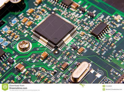 Electronic Circuit Board Stock Photo Image Microchip
