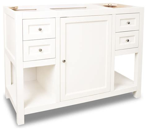 transitional bathroom vanity cabinets lyn design van091 48 without top transitional