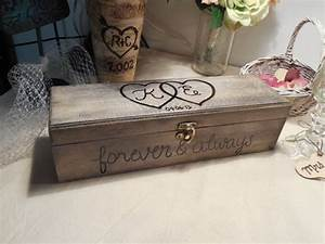 wedding wine box wine box ceremony first fight box With love letter box