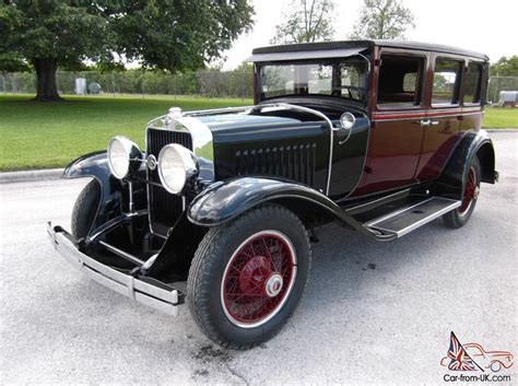 1927 Cadillac Lasalle Sedan First Yeart Mint Museum