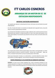 Motor De Excitaci U00f3n Independiente