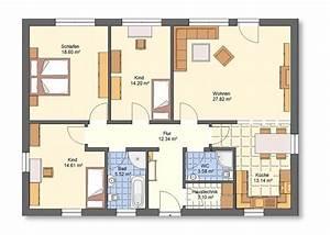 Grundriss Bungalow 4 Zimmer Ihr Traumhaus Ideen