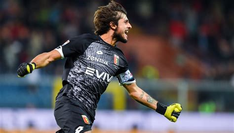 Perin's Signed Match-Issued/Worn Uhlsport Gloves ...