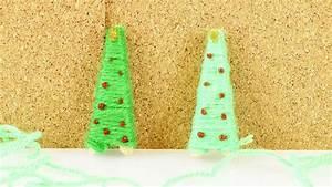 Tannenbaum Selber Basteln : mini weihnachtsbaum selber basteln tannenbaum aus wolle als deko oder zum verschenken diy ~ Yasmunasinghe.com Haus und Dekorationen