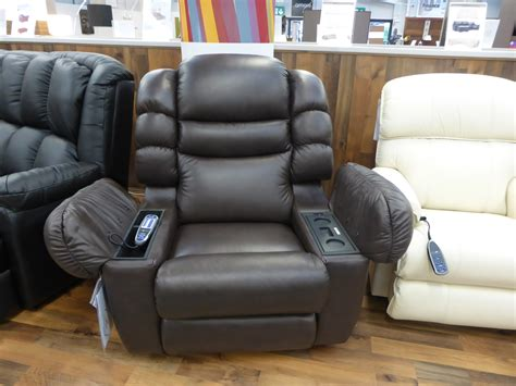 la z boy cool cooler leather recliner built in