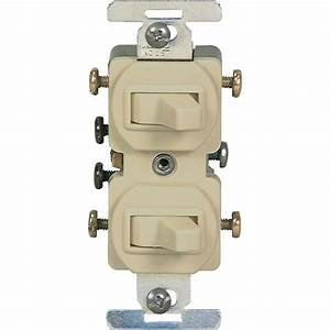 Eaton 15 Toggle Duplex Switch Light Control Indoor Wall