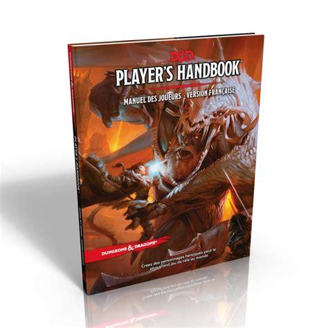 Dungeons & Dragons 5ème Edition Player's Handbook Vf