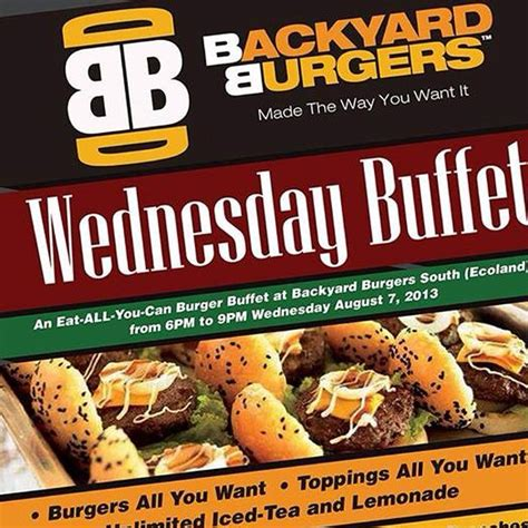 backyard burger menu backyard burgers ecoland menu davao city davao sur