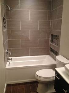 10 diy great ways to upgrade bathroom 9 the floor to for Small bathroom big or small tiles