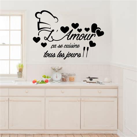 l amour dans la cuisine sticker citation l 39 amour ça se cuisine stickers