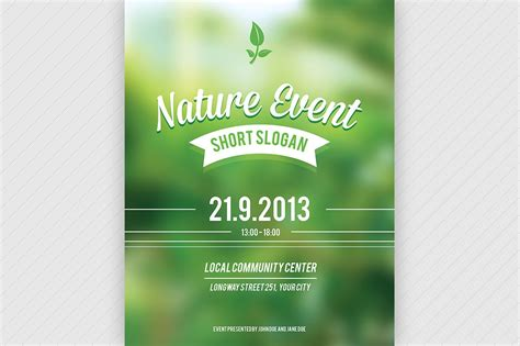 Nature Event Flyer Psd