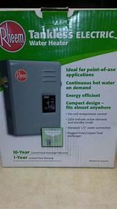 Rheem 13 Kw Tankless Water Heater
