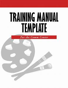 Training Manual Template Word