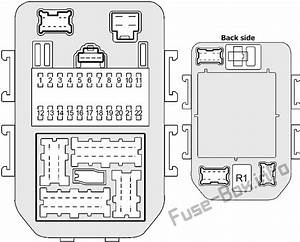 Fuse Box Diagram Infiniti M45  Y34  2003
