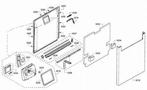 Bosch Model She53tf2uc  07 Dishwasher Genuine Parts