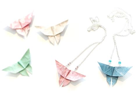 collier origami la fabrique diy