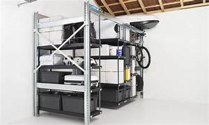 Rangement Plafond Garage : photos de rangements modulables garage pour v lo outils et coffre de toit lodus ~ Melissatoandfro.com Idées de Décoration