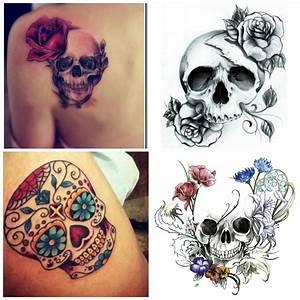 Tete De Mort Mexicaine Femme : l atitia june blog les tatouages ~ Melissatoandfro.com Idées de Décoration