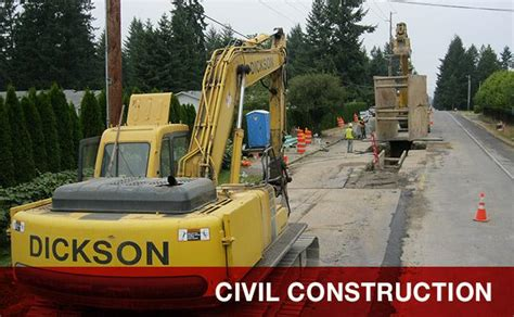 dickson company washington state demolition experts