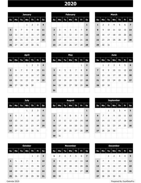 calendar excel templates printable pdfs images