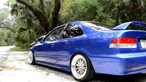 honda civic em turbo ba youtube
