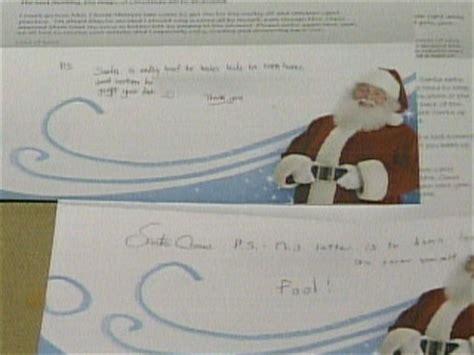 hunt   grinch writing obscene santa letters