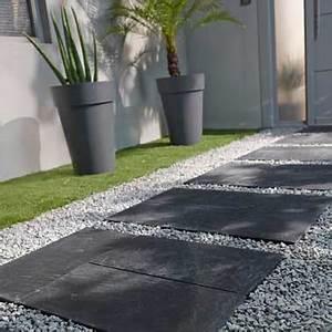 Dalle De Terrasse Castorama : pas japonais pour am nager une all e d co dans le jardin ~ Premium-room.com Idées de Décoration