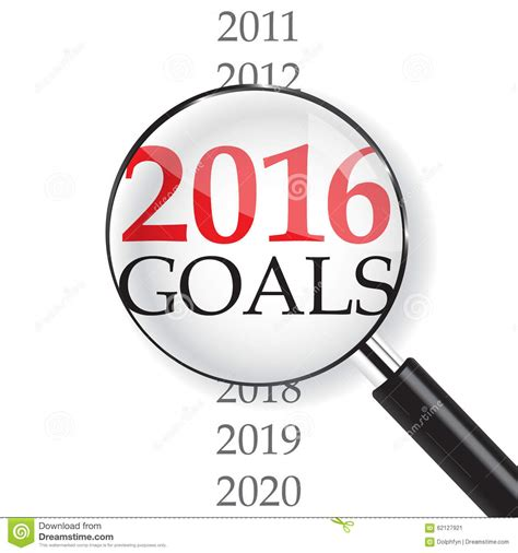 2016 Goals Stock Illustration Image Of Closeup, Zoom