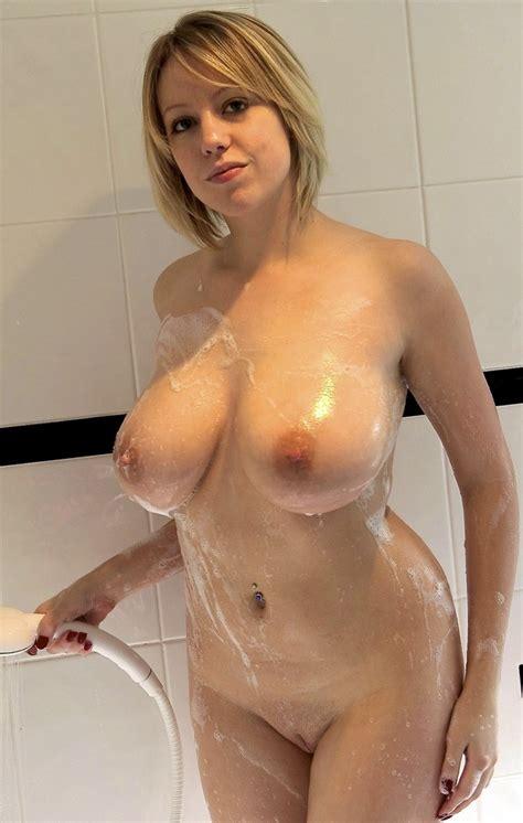 Busty Blonde Wife Gangbang
