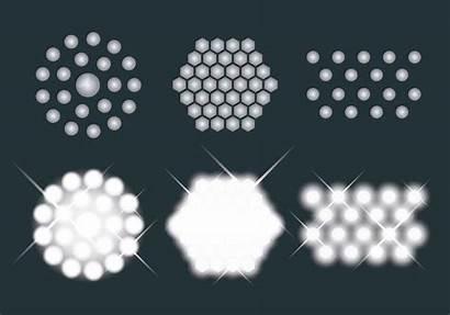 Led Vector Lights Icons Bulbs Icon Bulb
