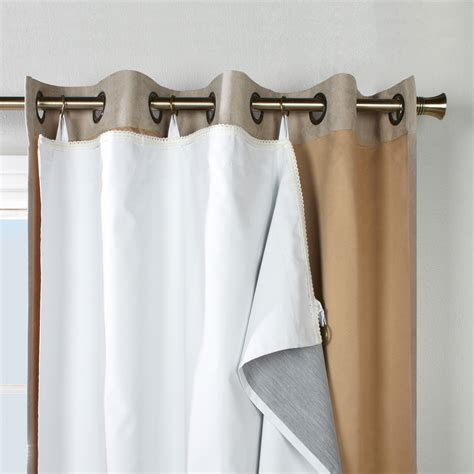 Room Darkening Drapery Liners by Thermalogic Thermalogic Ultimate Single Panel Curtain Liner