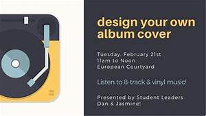 design your own album cover walnut hill college With create your own cd cover