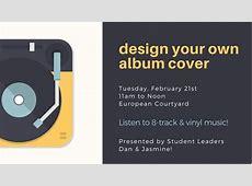 Design Your Own Album Cover Walnut Hill College