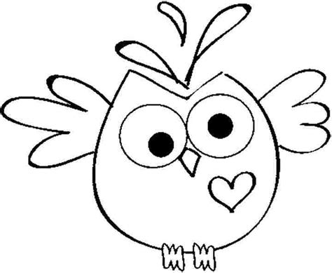 Owl Coloring Pages For Free