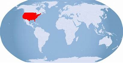 Highlighted Usa Globe States United Entire Clipart