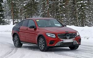Coupe Mercedes : mercedes glc coupe 2016 spied once more merc 39 s going x4 chasing by car magazine ~ Gottalentnigeria.com Avis de Voitures