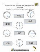 Practice Time Telling Worksheet Free Clock Worksheets Telling The Time To 1 Min 1 Free Printable Time Clock Worksheets Free Time Worksheets Telling The Time To 1 Min 2