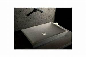 Vasque à Poser Salle De Bain : 60x40 vasque en pierre granit de salle de bain poser dune ~ Edinachiropracticcenter.com Idées de Décoration