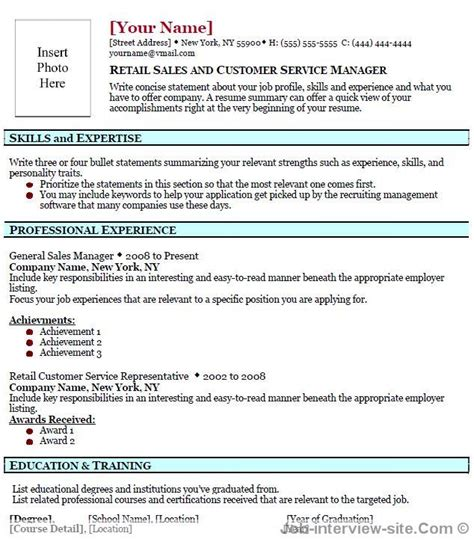 top professional resume templates