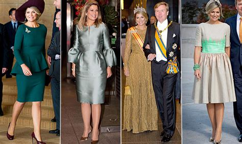 Queen Maxima The Netherlands Top Fashion Moments From