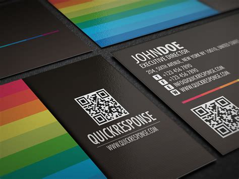Quick Response Business Card Design Version 04 Avery Business Cards Template 38871 Design Online Nz Dimensions Of In Pixels Create 8371 Scanner App For Iphone Substitute Teacher Samples Custom Shaped Australia Transparent Plastic Canada