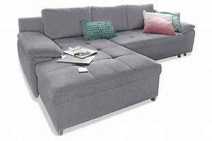 Ecksofa Grau Mit Schlaffunktion : ecksofa mit schlaffunktion grau sofas zum halben preis ~ Bigdaddyawards.com Haus und Dekorationen