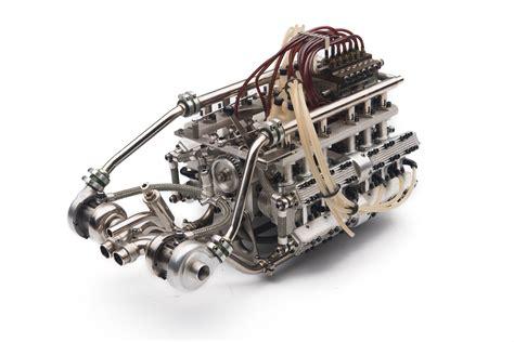 scale porsche type  engine