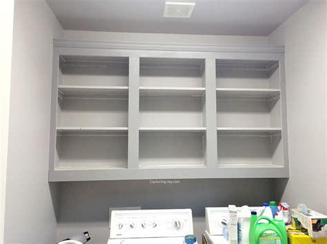 upgrade  laundry room  custom cabinets